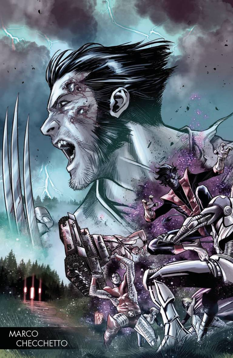 Hunt For Wolverine #1 (Cover G Marco Checchetto Young Guns Variant)