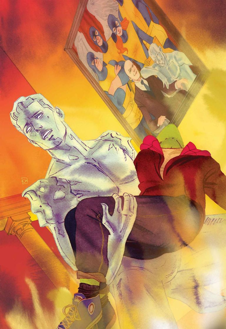 Iceman #10 (Kevin Wada Cover)