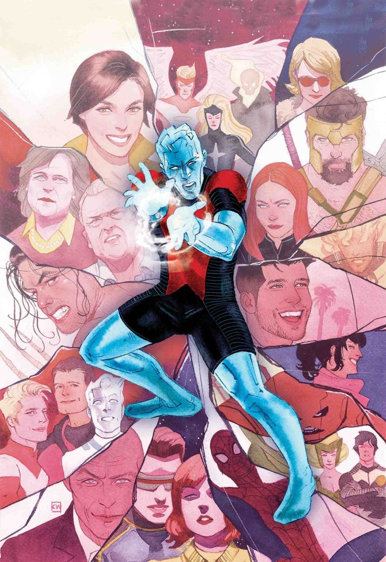 Iceman #11 (Kevin Wada Cover)