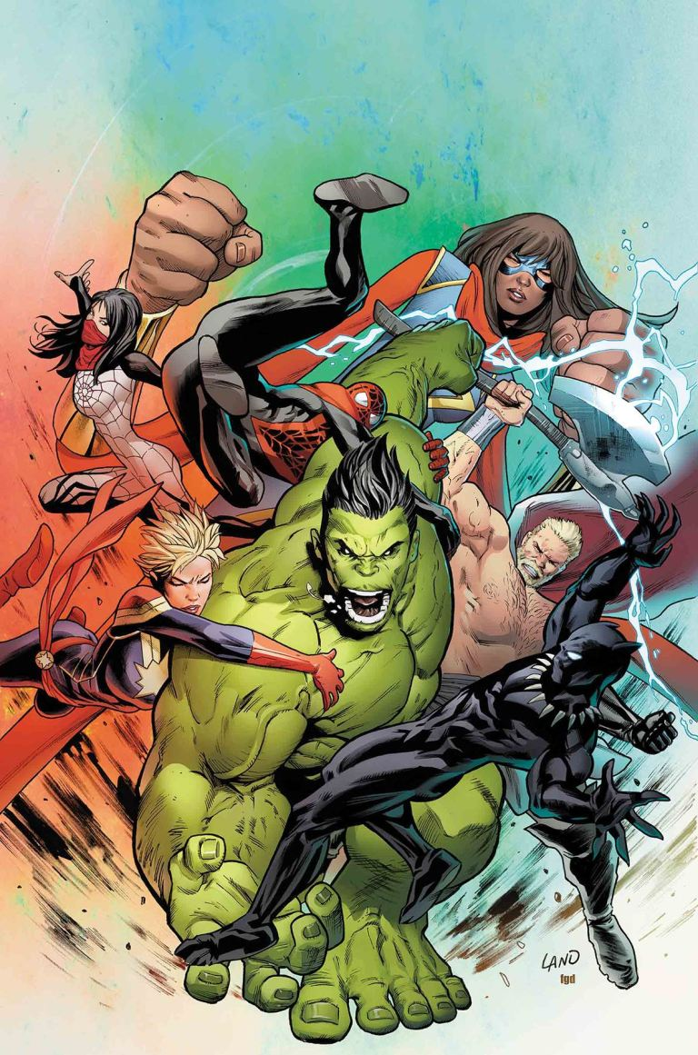 Incredible Hulk #716 (Greg Land Cover)