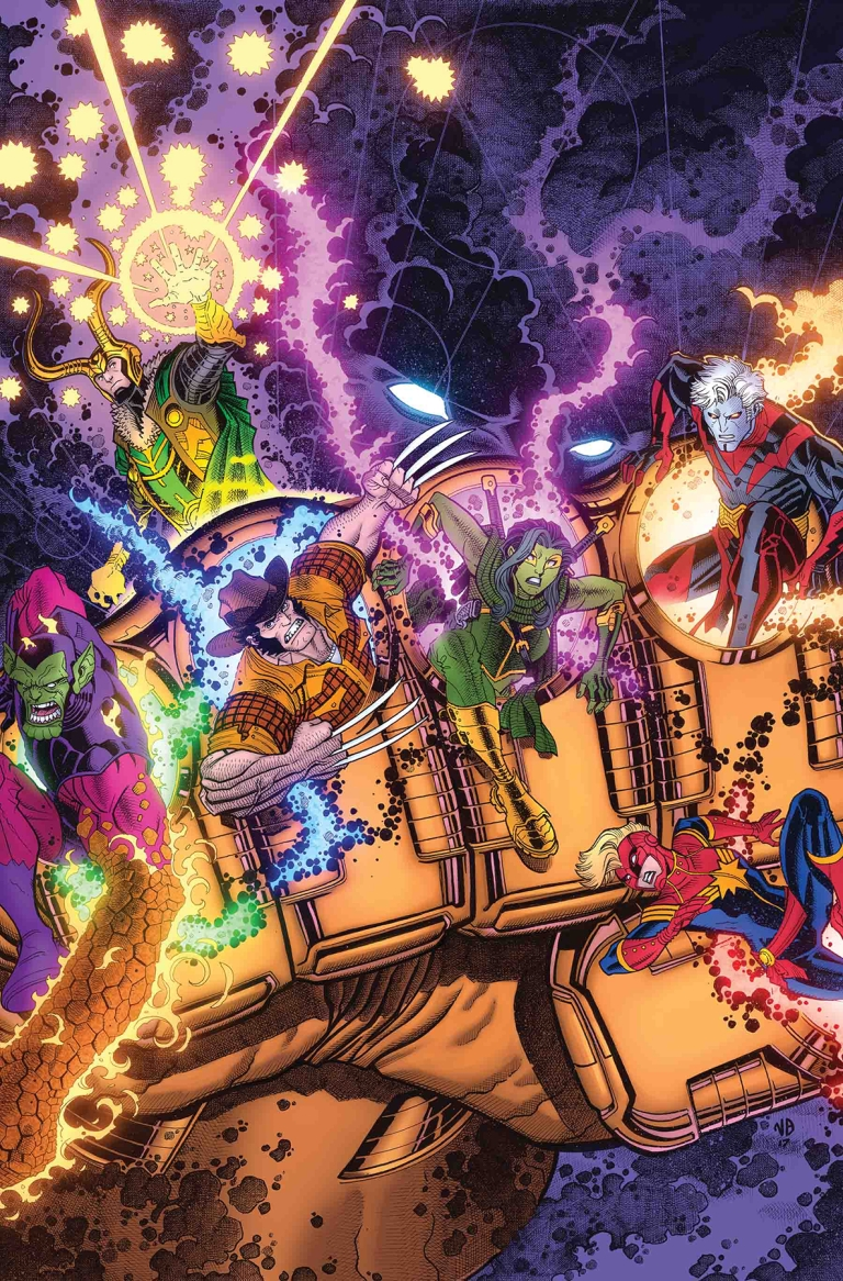 Infinity Countdown #1 (Cover B Nick Derington)