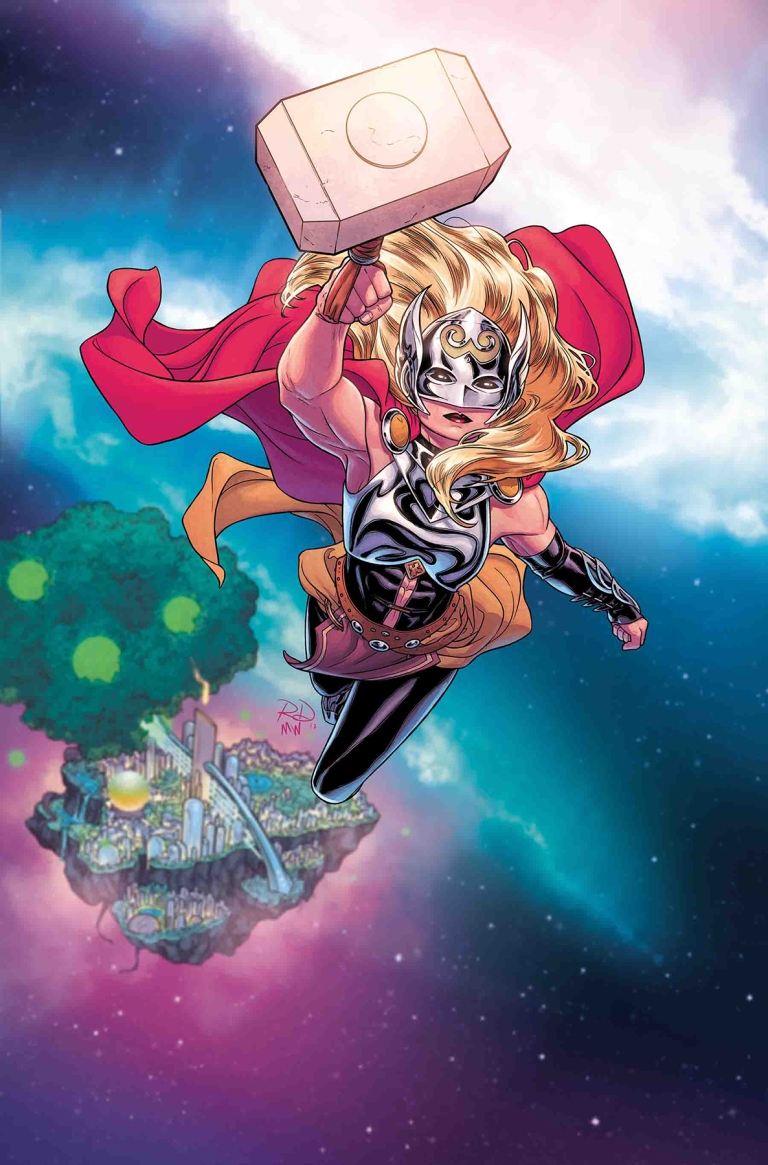 Infinity Countdown #1 (Cover D Russell Dauterman Mighty Thor Variant)