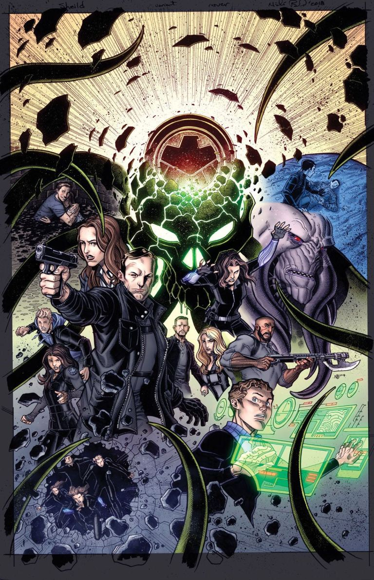 Infinity Countdown #1 (Cover I Nick Bradshaw Marvel's Agents Of S.H.I.E.L.D. Road To 100 Variant)