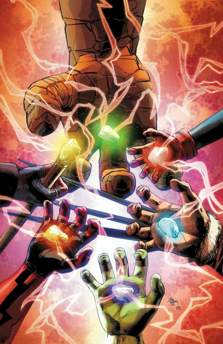 Infinity Countdown Prime #1 (Cover A Mike Deodato)