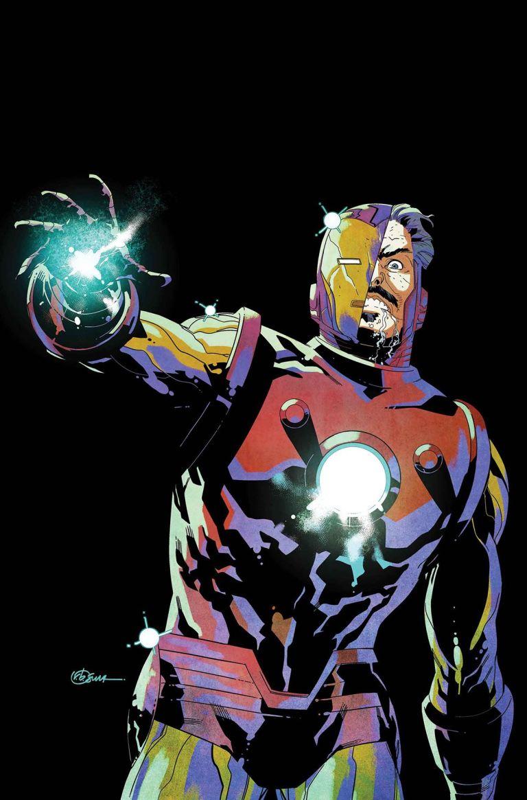 Invincible Iron Man #597 (Cover A R. B. Silva)