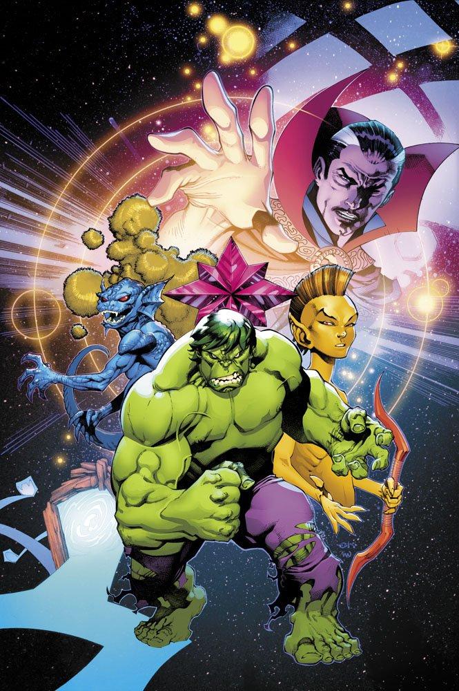 Invincible Iron Man #597 (Cover B Chris Stevens Hulk Variant)