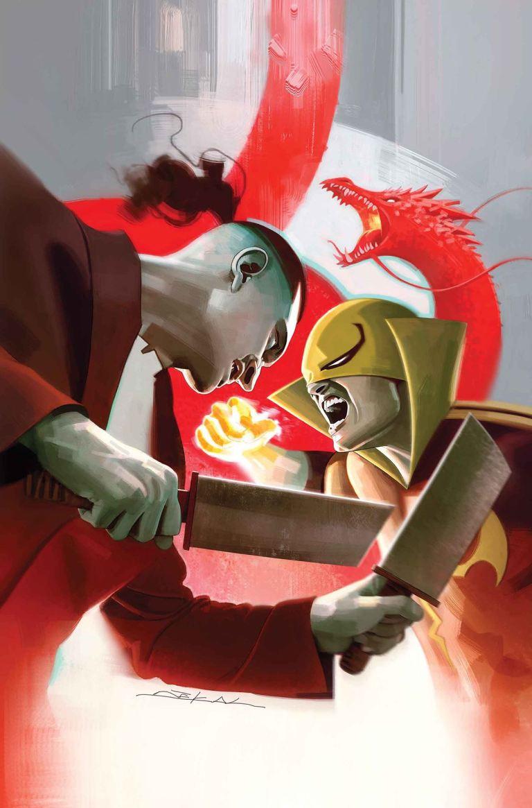 Iron Fist #77 (Jeff Dekal Cover)