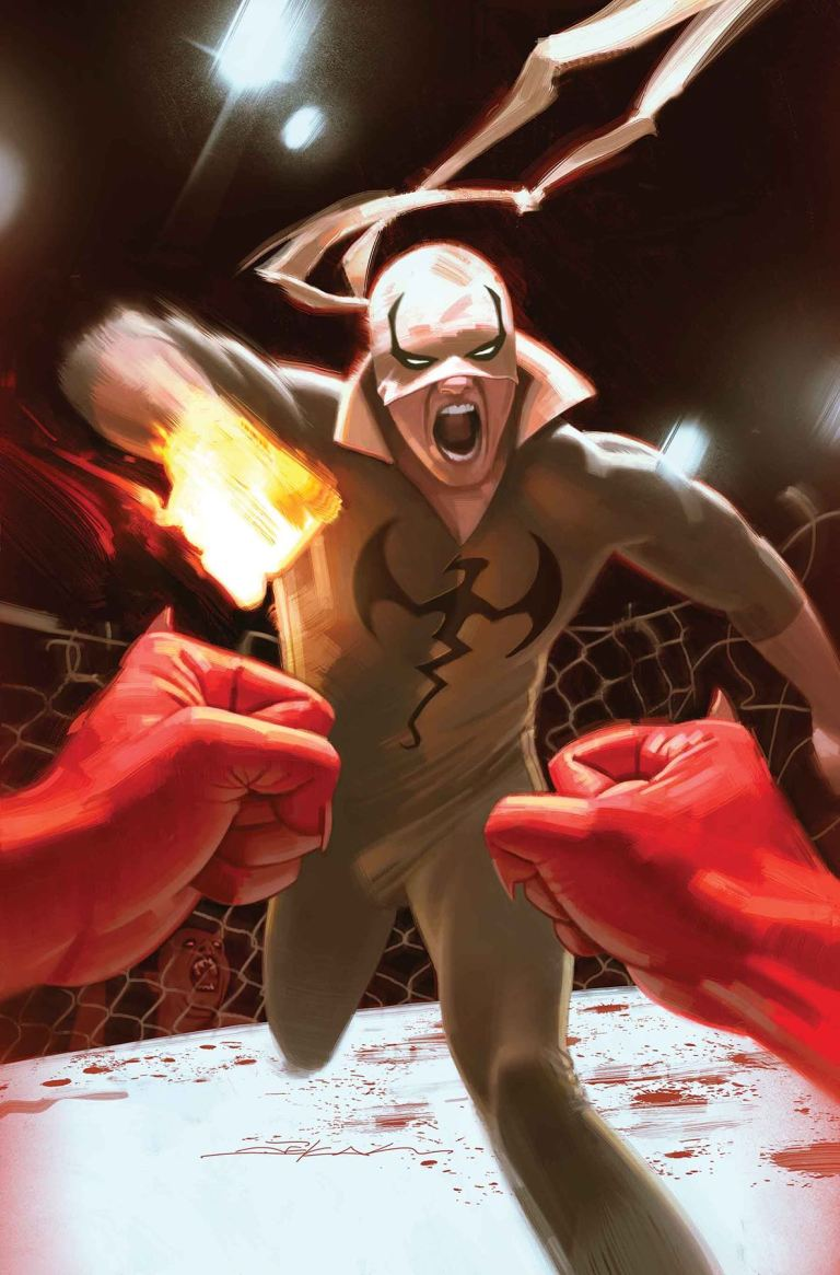 Iron Fist #79 (Jeff Dekal Cover)