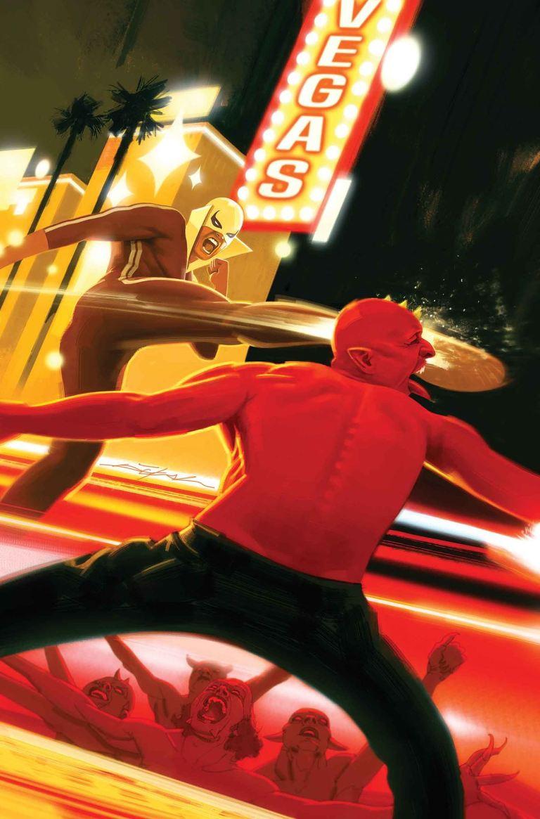 Iron Fist #80 (Jeff Dekal Cover)