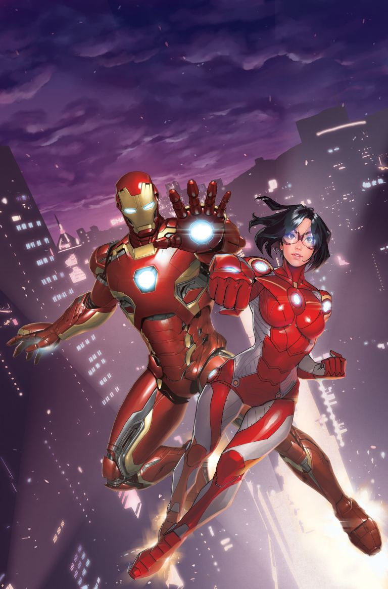 Iron Man Hong Kong Heroes #1 (Cover B Gang Hyuk Lim)