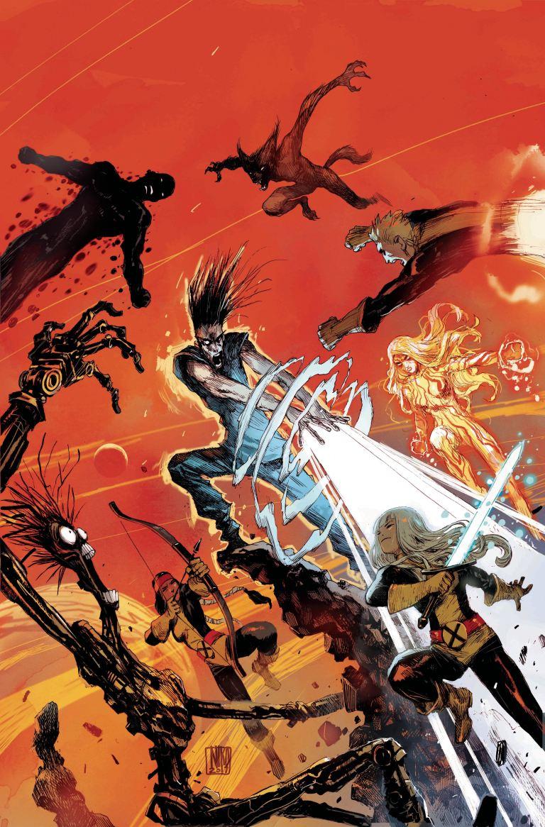 Legion #1 (Cover B Niko Henrichon)