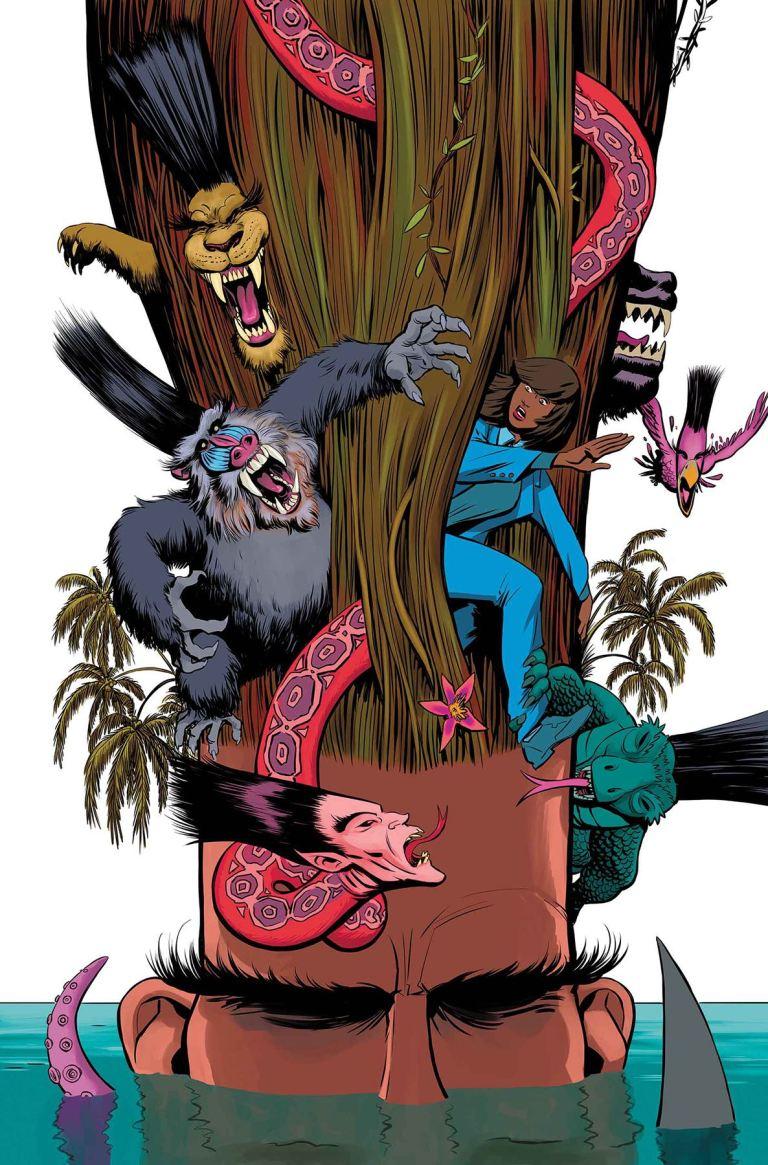 Legion #2 (Javier Rodriguez Cover)