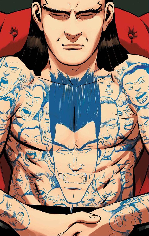 Legion #4 (Javier Rodriguez Cover)