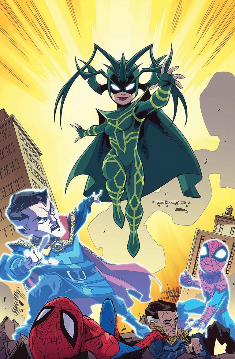 Marvel Super Hero Adventures Spider-Man And The Stolen Vibranium #1 (Cover B Khary Randolph)