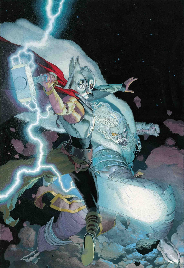 Mighty Thor #705 (Cover C Esad Ribic Mighty Thor Variant)