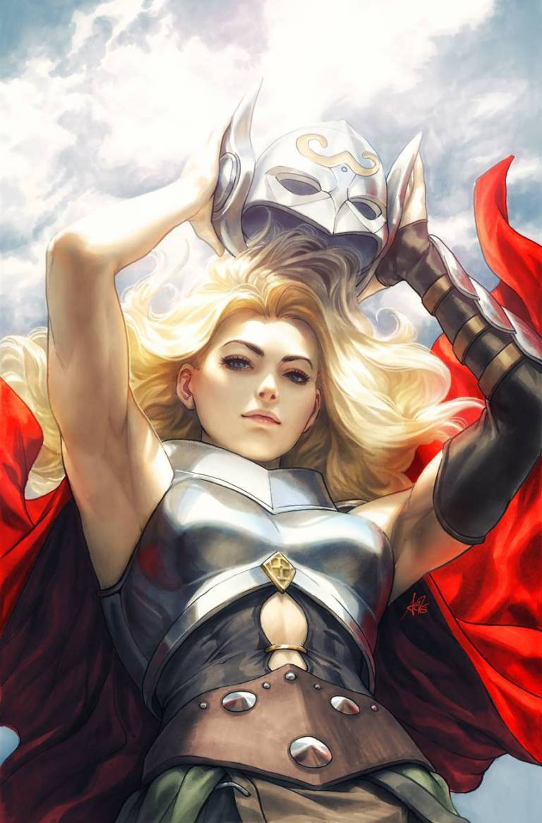 Mighty Thor #705 (Cover F Stanley Artgerm Lau Virgin Variant)