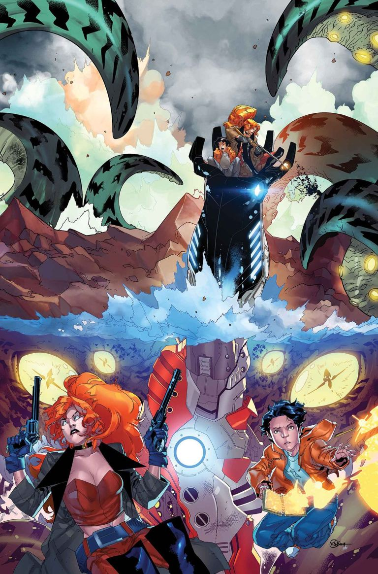 Monsters Unleashed #10 (R.B. Silva Cover)