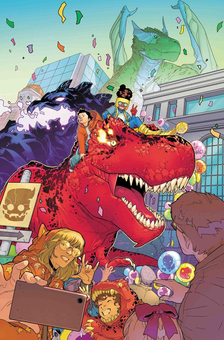 Monsters Unleashed #12 (R. B. Silva Cover)