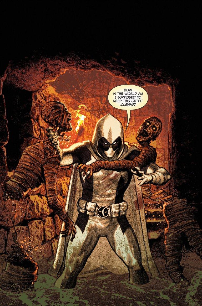 Moon Knight #195 (Cover B Greg Smallwood Deadpool Variant)