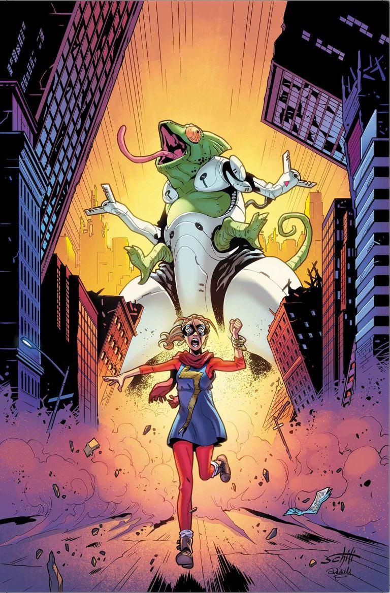 Ms. Marvel #26 (Valerio Schiti Cover)