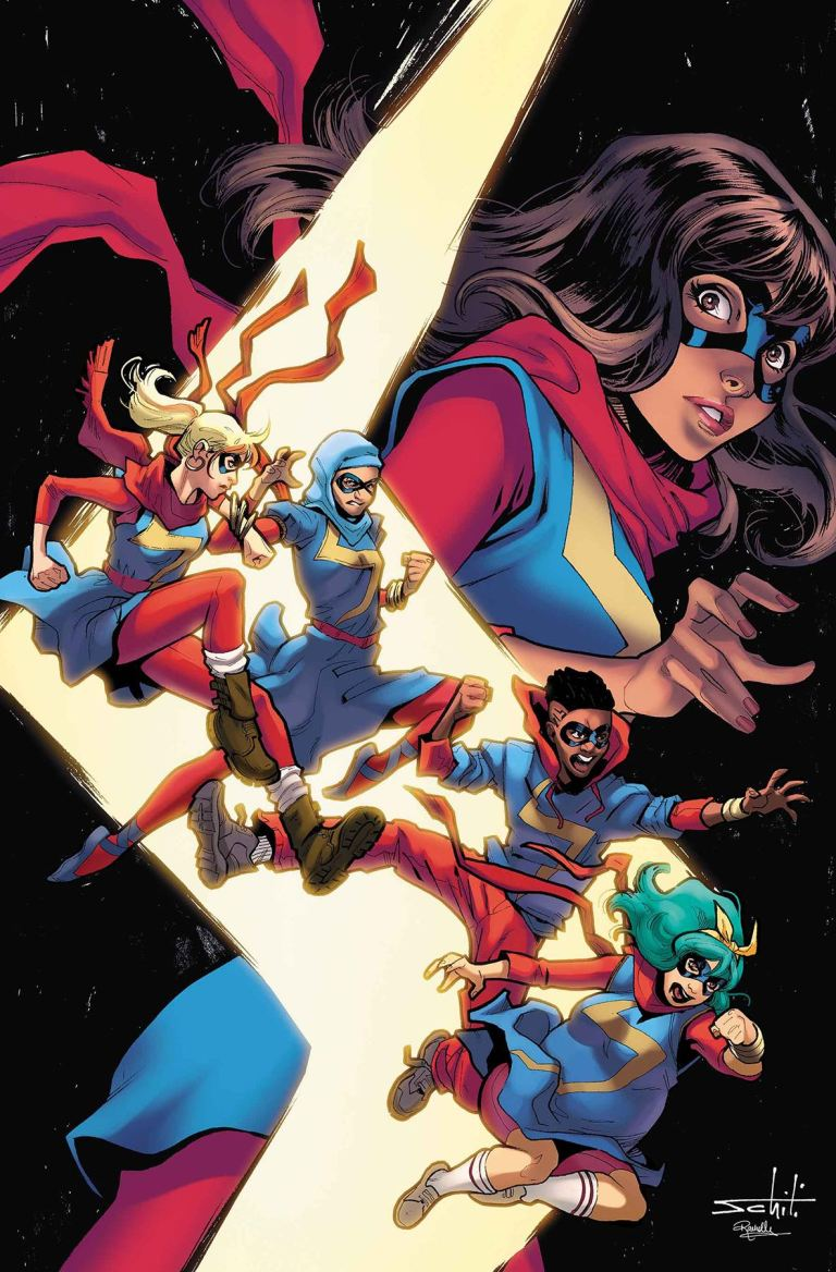 Ms. Marvel #27 (Valerio Schiti Cover)