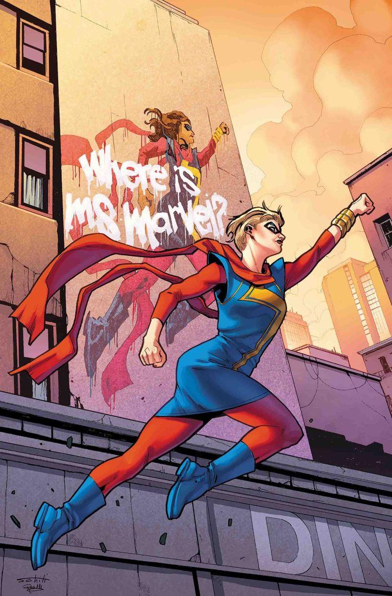 Ms. Marvel #28 (Valerio Schiti Cover)