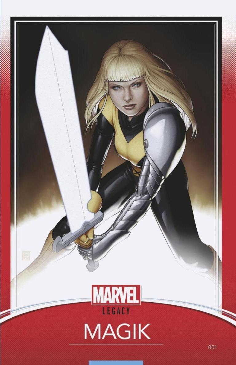 New Mutants Dead Souls #1 (Cover B John Tyler Christopher Trading Card Variant)