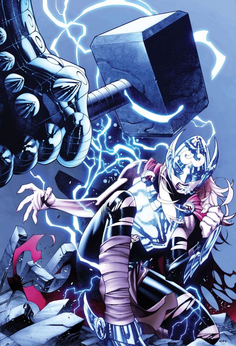 New Mutants Dead Souls #1 (Cover C Chris Stevens Mighty Thor Variant)