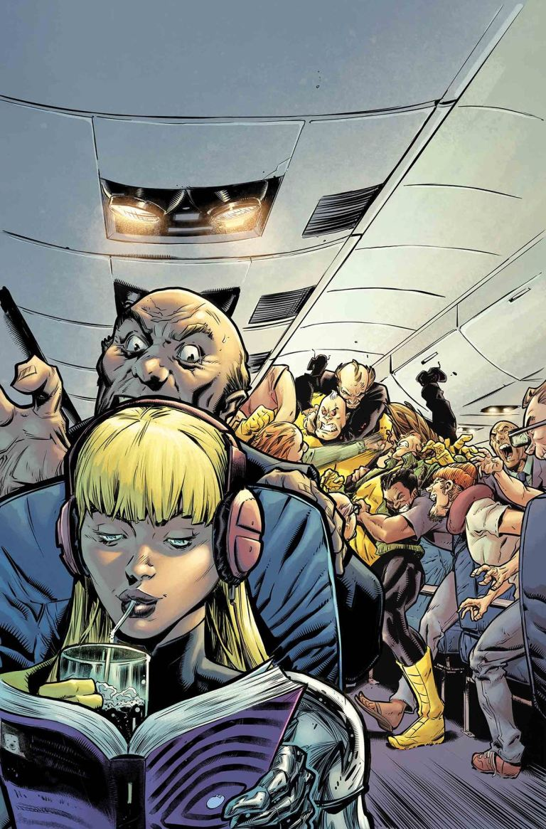 New Mutants Dead Souls #3 (Ryan Stegman Cover)