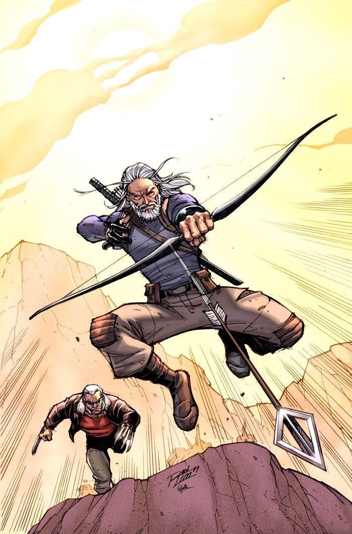 Old Man Hawkeye #1 (Cover B Ron Lim)