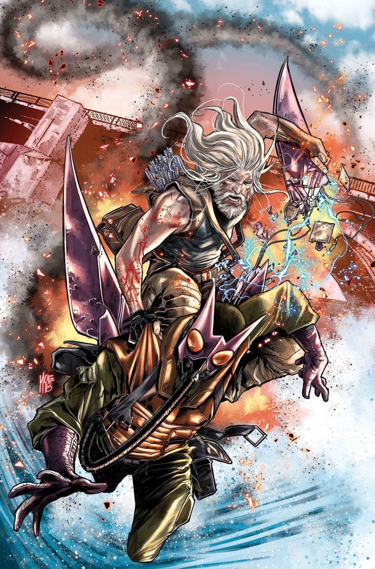 Old Man Hawkeye #4 (Marco Checchetto Cover)