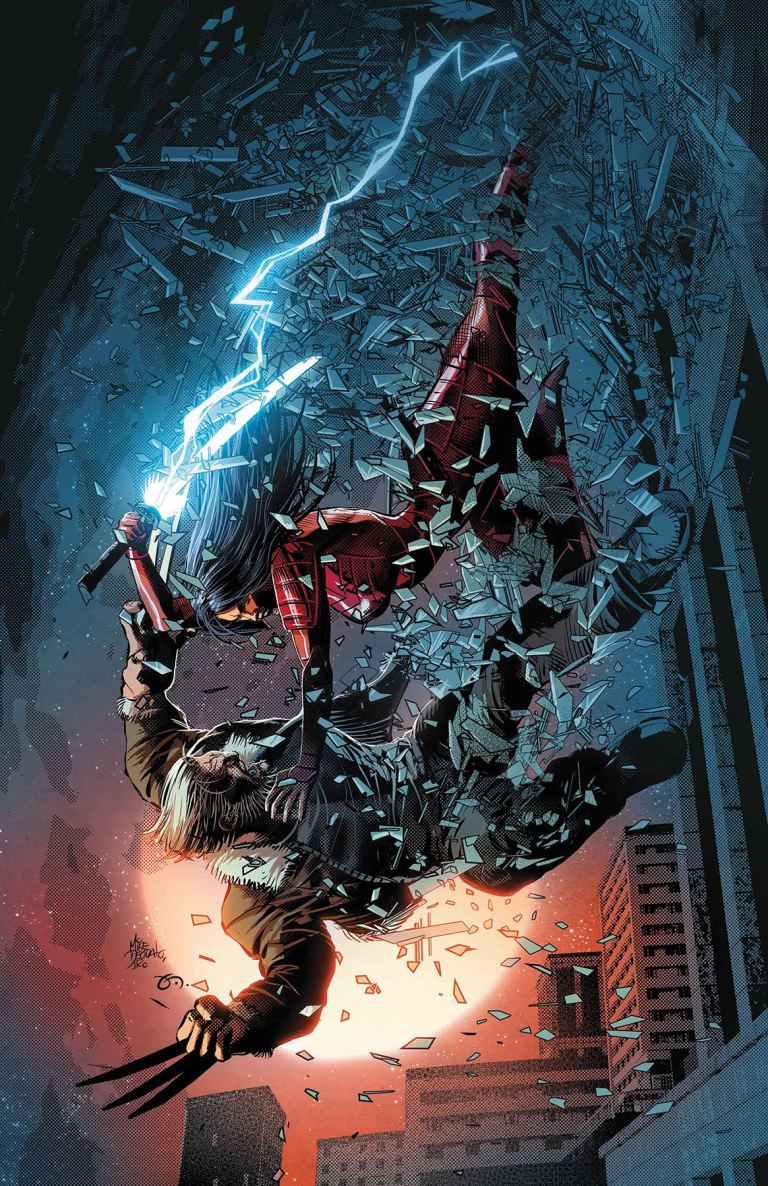 Old Man Logan #33 (Mike Deodato Jr. Cover)