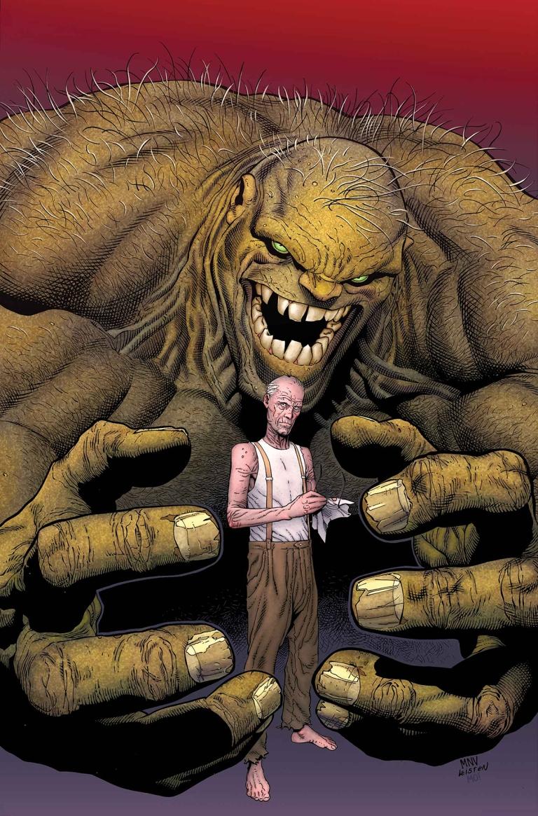 Old Man Logan #35 (Cover B Steve McNiven Hulk Variant)
