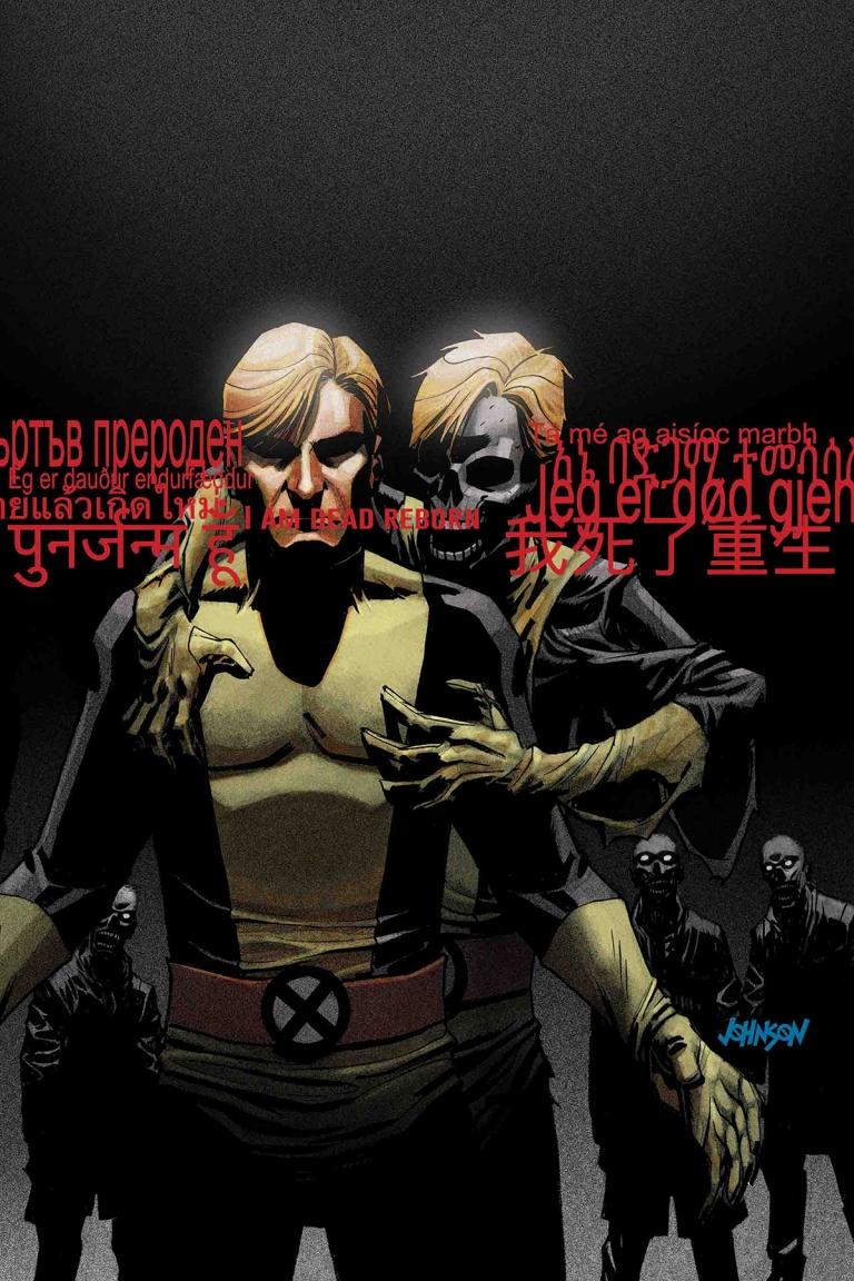 Old Man Logan #36 (Cover B Dave Johnson New Mutants Variant)