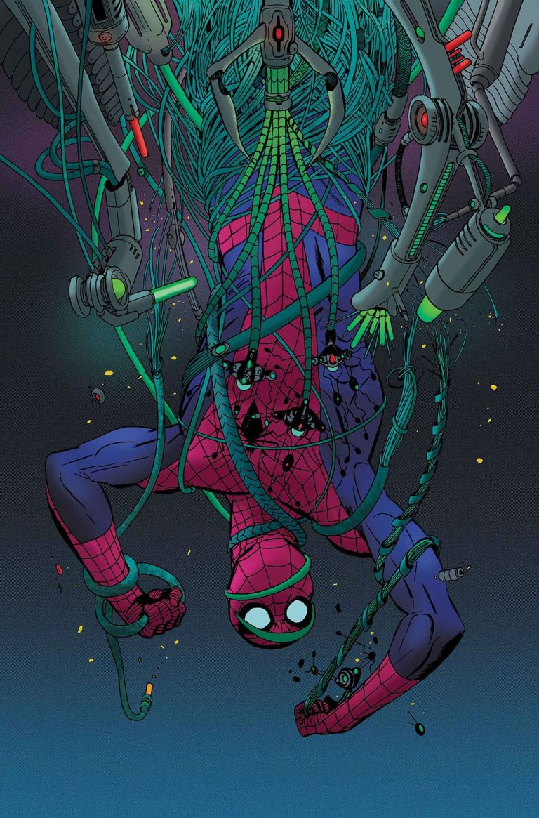 Peter Parker The Spectacular Spider-Man #299 (Marcos Martin Cover)