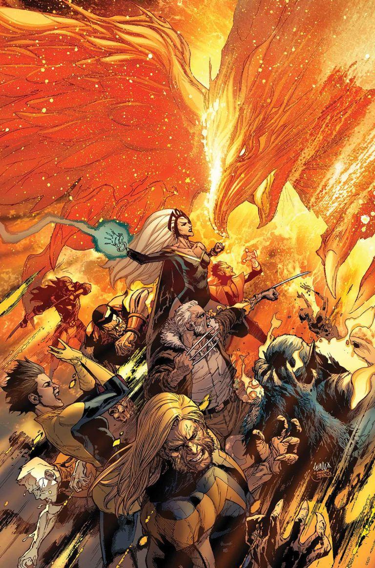 Phoenix Resurrection The Return Of Jean Grey #4 (Cover A Leinil Francis Yu)