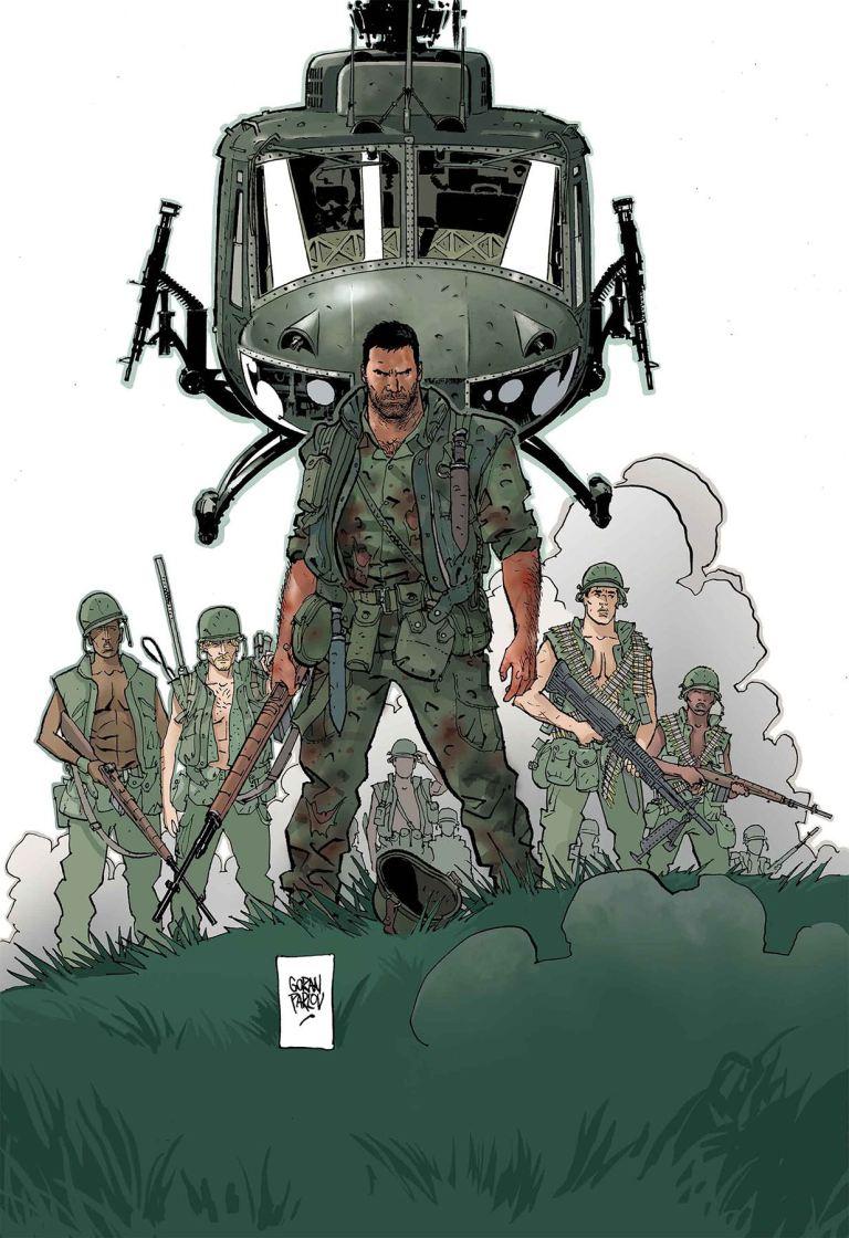 Punisher The Platoon #6 (Goran Parlov Cover)