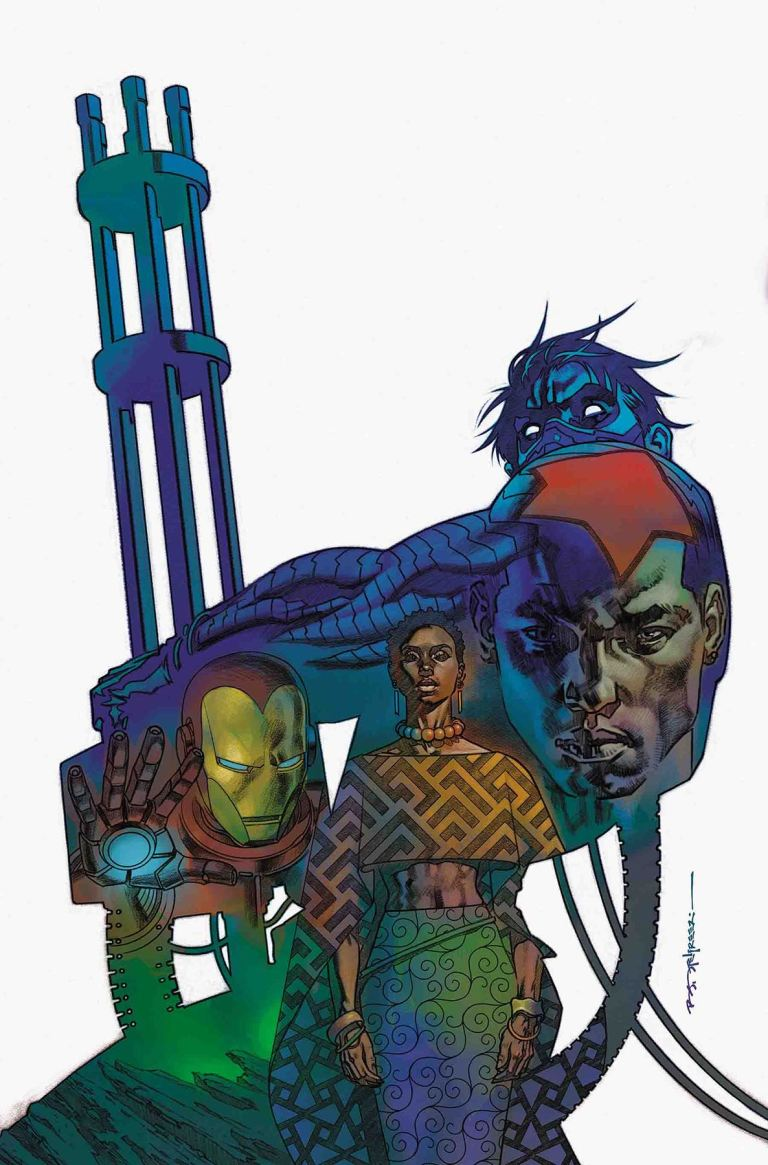 Rise Of The Black Panther #3 (Cover A Brian Stelfreeze)