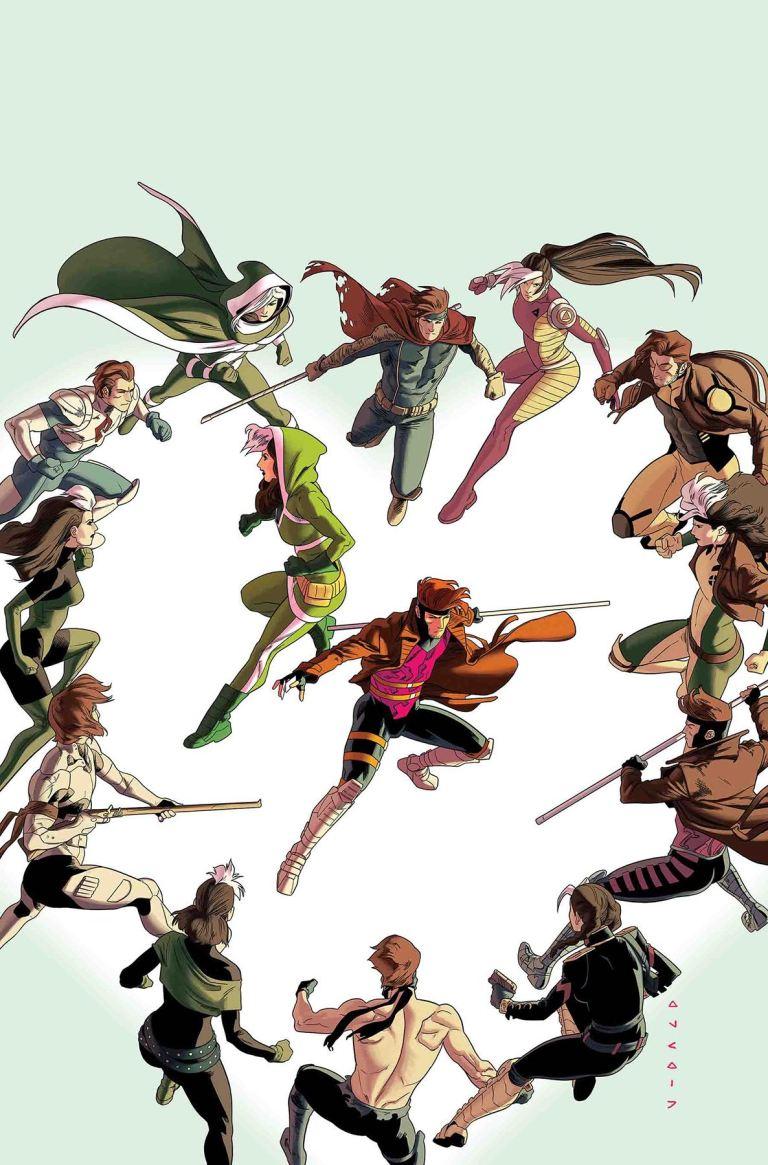 Rogue And Gambit #3 (Kris Anka Cover)