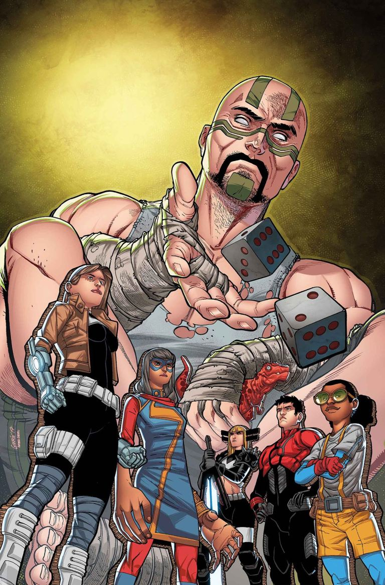 Secret Warriors #12 (Javier Garron Cover)