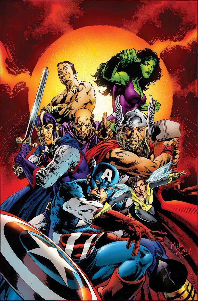 She-Hulk #161 (Cover B Mike Perkins Avengers Variant)