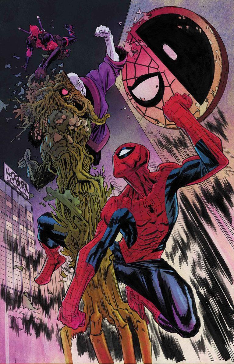 Spider-Man Deadpool #28 (Scott Hepburn Cover)