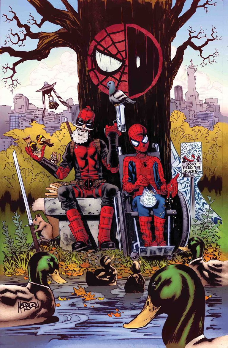 Spider-Man Deadpool #29 (Scott Hepburn Cover)