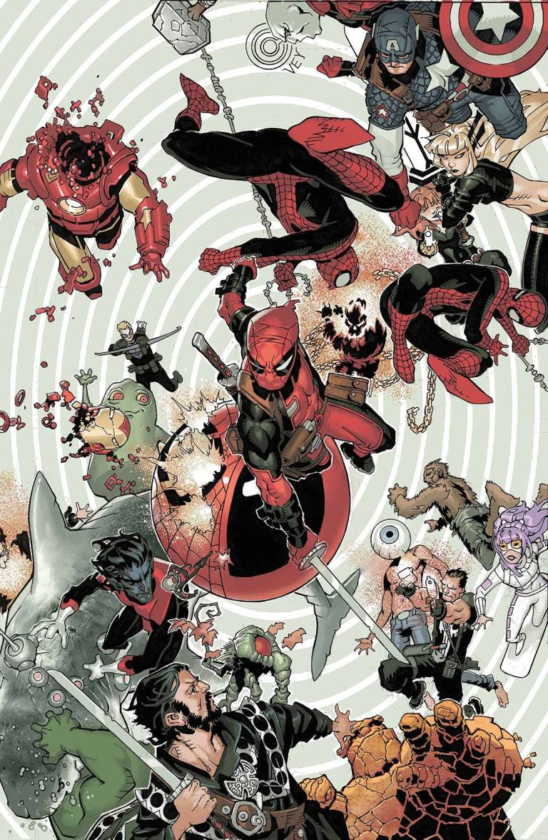 Spider-Man Deadpool #30 (Chris Bachalo Cover)