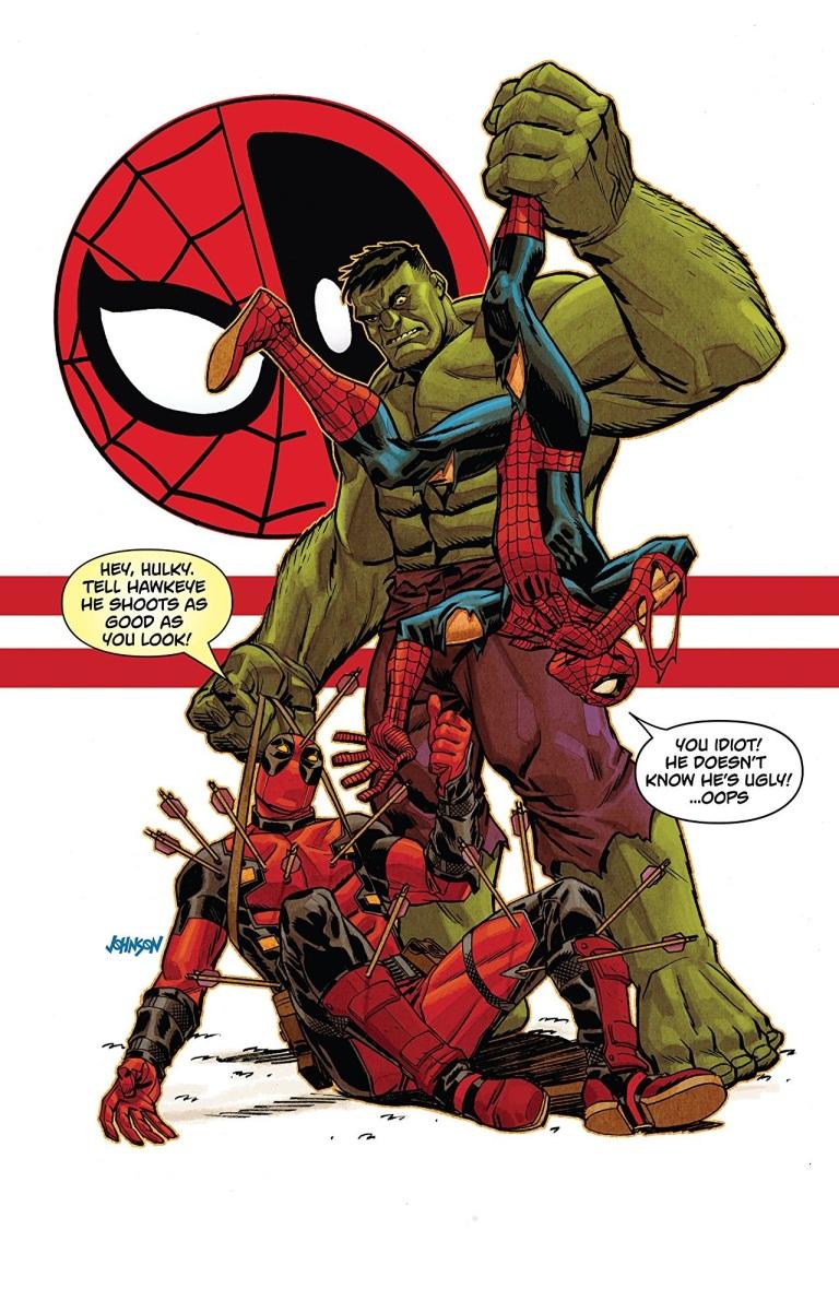 Spider-Man Deadpool #31 (Dave Johnson Cover)