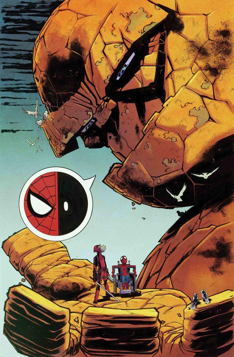 Spider-Man Deadpool #32 (Scott Hepburn Cover)