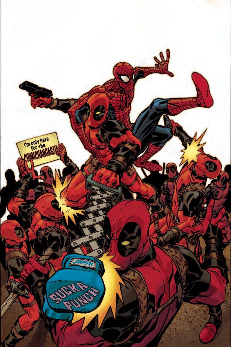 Spider-Man Deadpool #33 (Dave Johnson Cover)