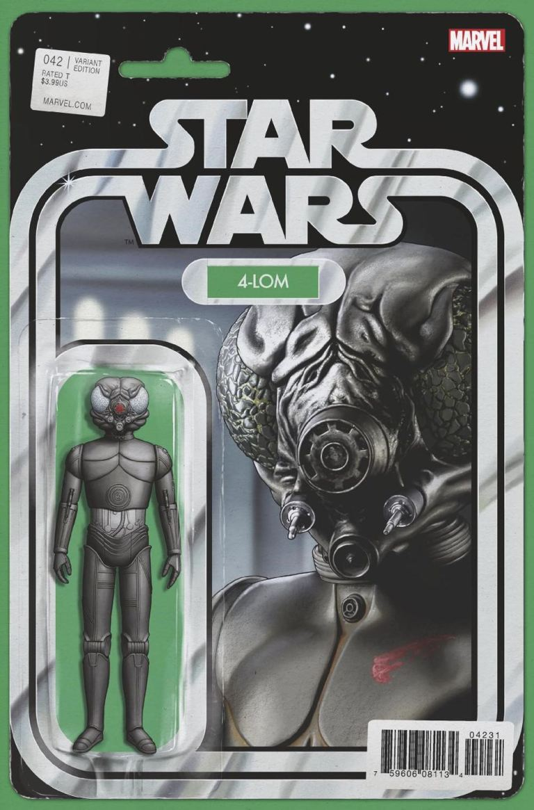 Star Wars #42 (Cover B John Tyler Christopher Action Figure Variant)