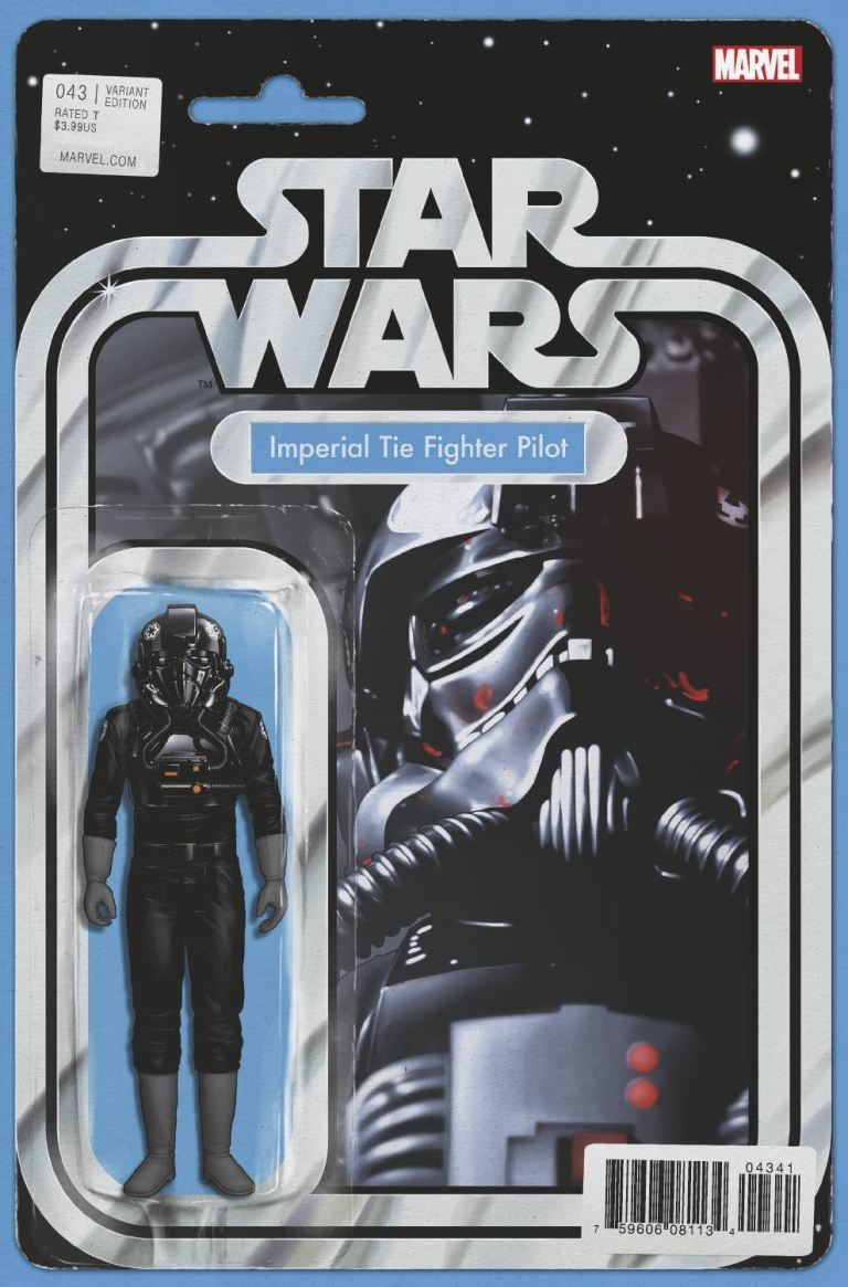 Star Wars #43 (Cover C John Tyler Christopher Action Figure Variant)