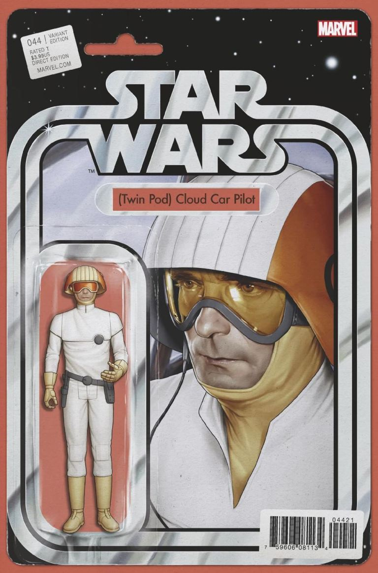 Star Wars #44 (Cover C John Tyler Christopher Action Figure Variant)